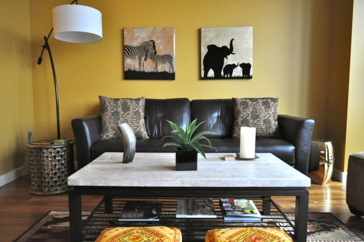 african home decorating