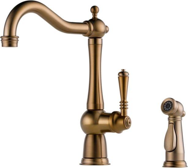 Antique Bronze Kitchen Faucet DragonGocom