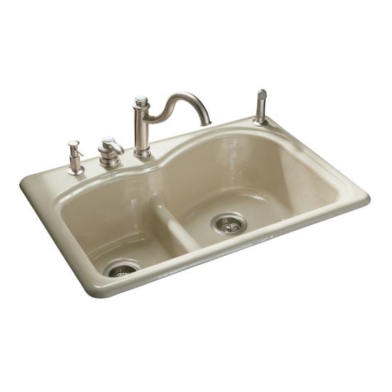 Kohler Cast Iron Kitchen Sink Install