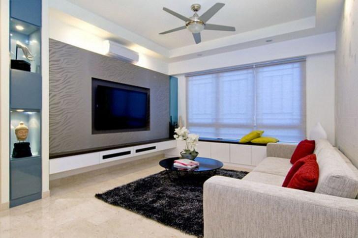 fancy Ultra Modern Living Room Home Interior Decoration Ideas