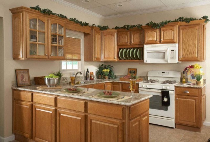 How To Decorate Your Own Kitchen Home With Wooden Kitchen Kabinet Classic  Kitchen Design Ideas For