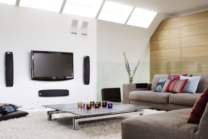 Small Modern Living Room Ideas With Big LED Tv Part 38
