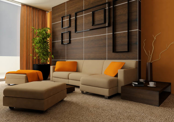 yellow is cool in modern living room ideas